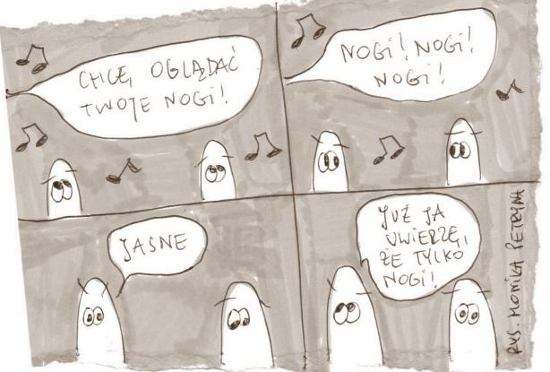 rysunki inspirowane piosenkami